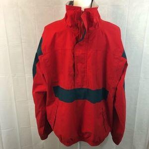 Vintage Eddie Bauer Pullover Jacket Red🔥🔥🔥